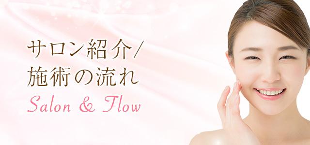 サロン紹介/施術の流れ